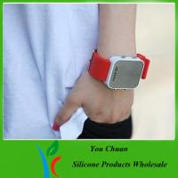 Wholesale 2012 hot sale silicone led watch high quality from china suppliers
