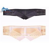 Wholesale Double Pull Fastener Waist Back Support Belt Lumbar Brace For Pain Relieve from china suppliers