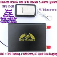 GPS106B Car Safety Vehicle GPS Tracker W/ Armed by remote-controller & geo-fencing Alarm