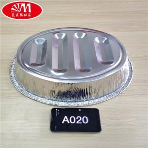 Quality Disposable Aluminium Foil Pan Turkey Pan Flower Aluminum Foil Container 6800ml for sale