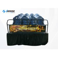 China 12 Seats Motion Chair 5D Movie Theater Cinema Simulator With 3D Glasses on sale