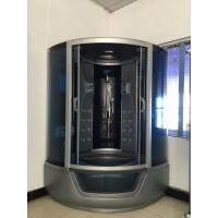 ABS Material steam double shower cabin with tray ,  150 X 150 X 220 / cm complete shower cabins