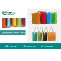 Wholesale Colorful Polypropylene Spunbond Non Woven Fabric Roll 30gsm Anti - Bacteria from china suppliers