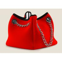 Wholesale neoprene tote handle bag for ladies / OEM manufacturer shopping bag export to Italy from china suppliers