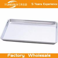 Wholesale Factory direct wholesale bread baking aluminum sheet-perforated baking tray-non-stick Baking Trays from china suppliers