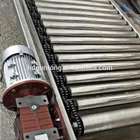 Wholesale Material Handling Adjustable Roller Conveyor With Double Sprockets from china suppliers