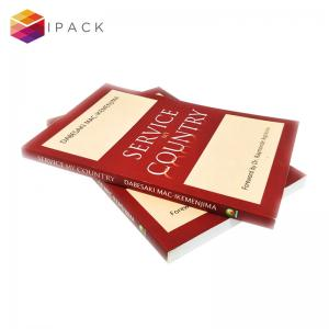 China FSC Art Paper Satin Finish A4 Softcover Book Printing on sale
