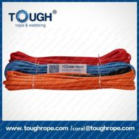 Wholesale dyneema winch rope 4x4 ATV UTV off-road tow rope winch line with thimble,hook as a full set from china suppliers