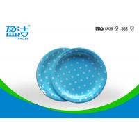Wholesale 7 Inch Circle Type Disposable Paper Plates Design Printed With Four Colours from china suppliers