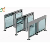 Wholesale Access Swing Barrier Gate,2.00 Thickness 304 Stainless Steel Glass Turnstile from china suppliers