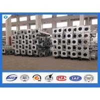 Wholesale 500mm Base Plate 7M 8M 9M 10M Octagonal Glavanized Electric Steel Pole from china suppliers