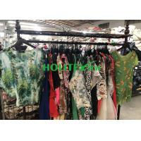 Buy cheap Top Grade Used Womens Clothing Colorful Ladies Silk Blouse Mixed Size from wholesalers