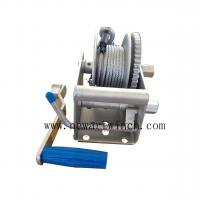 Wholesale 2 Speed Marine Hand Winch 1500lbs With Six Meter Cable 4mm Thickness Pawl from china suppliers