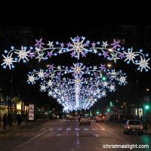 Christmas street light decoration/ led street motif lights for sale ...