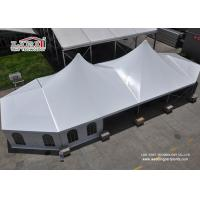 Ridge White High Peak Tent With Strong Aluminum Structure For Outdoor Activities