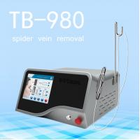 Buy cheap High Power 980 nm Diode Laser Spider Removal Machine With Imported Fiber 2 Years from wholesalers