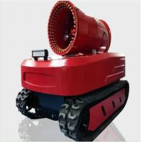 Wholesale Protective Fire Fighting Equipment Remote Control Fire Smoke Detection Robot from china suppliers