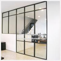 Clear 6mm 8mm 10mm 12mm Tempered Glass Partition Wall Of