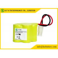 Wholesale 4.8v NIMH 1.2 V Rechargeable Battery Pack 2500mah Rechargeable With Wires / Connector from china suppliers