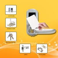 Wholesale Easy Operated RFID Card Door Lock With Mechanical Key Code / Auto  Locking Mode from china suppliers
