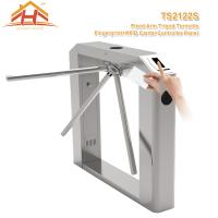 Wholesale Semi Automatic Tripod Barrier Gate , 3 Arm Turnstile No Exposed Screws Or Fasteners from china suppliers