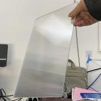 Wholesale PS rigid lenticular plastic 20 LPI flip lenticular effect thickness 3 mm designed for flip effect on digital printer from china suppliers