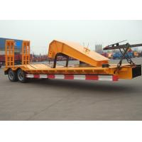 Wholesale 3-6 Axles Low Bed Semi Trailer For Container Shipment And Off Site Assemble from china suppliers