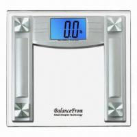 Wholesale High-accuracy Digital Scale with 4.3-inch Extra Large Cool Blue Backlight Display from china suppliers