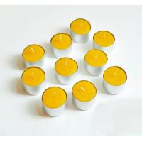 Wholesale Bulk Pure Beeswax Tea Lights Candle In Aluminum Cup from china suppliers