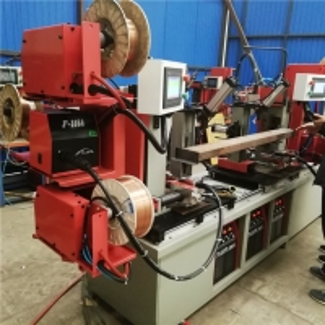 China 6 Sides Gas Gun Rack P Shape Step 4.0mm Beam Welding Line Machine on sale