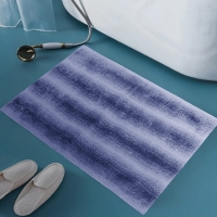 Buy cheap BSCI Machine Washable Luxury Plush Bath Rugs Strong Adhesion from wholesalers