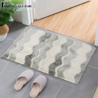 Wholesale BSCI Reinforced Stitching Tufted Bath Mat With Durable Latex Backing from china suppliers
