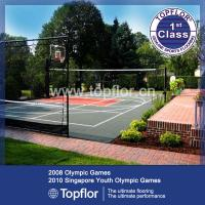 Portable Outdoor Interlocking Flooring for tennis court