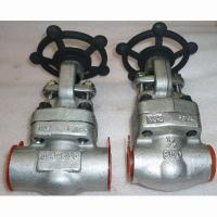 Wholesale A182 F316L Forged Steel Gate Valve DN15 Socked Weld Gate Valve NPT Threaded from china suppliers