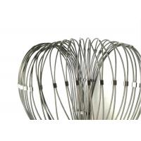 Buy cheap Ferrule Flexible Stainless Steel cable Mesh With Frame Used For Stair Balustrade from wholesalers