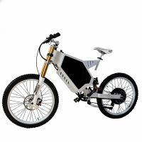 Battery Powered Bicycles >> Electric Stealth Bomber Mountain Bike Fortified Steel