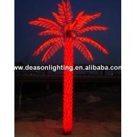 Wholesale Artificial led COCONUT tree light/ lamp for outdoor park decoration led coconut palm tree from china suppliers