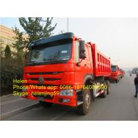 Buy cheap Sinotruk heavy trucks ZZ3257N3647A 336hp full fender howo dumper trucks with one sleeper from wholesalers