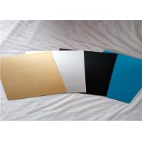 ASTM B209 Pre Painted Aluminum Sheet / Colored Anodized Aluminum ...