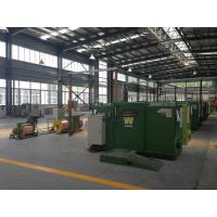 FUCHUAN high speed apple Green Copper Wire Bunching Machine , Cable Machinery