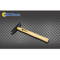 China Polished Chipping Drop Forged Hammer 300g 500g Fiber Glass Handle on sale