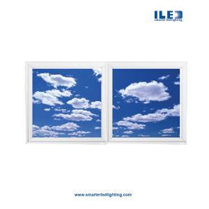 600x600 LED Clouds Ceiling light,Sky decoration LED ceiling panel light ,led plafond, 600 led panel light