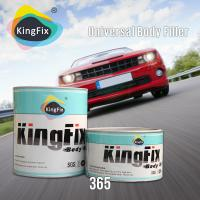 Wholesale KINGFIX BPO system yellow putty car body filler with universal uses from china suppliers