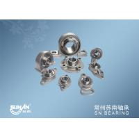 Wholesale Small Mounted Ball Bearings Unit / Stainless Steel Pillow Block Bearing from china suppliers