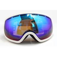Wholesale UV Protection Over Glasses Mirrored Ski Goggles with Soft TPU Frame from china suppliers