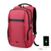 Buy cheap Anti Theft Waterproof Laptop Backpack With USB Charging Port Large Capacity from wholesalers