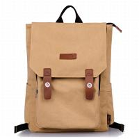 Wholesale Washable Women And Mens Shoulder Bags Canvas Fashion Backpack Large Capacity from china suppliers