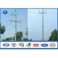 Wholesale Overhead Transmission Line Electric Power Pole with Material Steel Q345 Q456 , Gr50 Gr65 from china suppliers