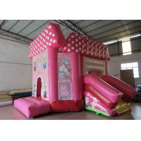 China Pink princess inflatable combo castle lovely inflatable combo house for children commercial inflatable combo on sale