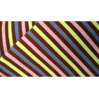 Wholesale Anti - Static Nylon Spandex Bronzing Vertical Striped Fabric Plain Dyed For Bra from china suppliers